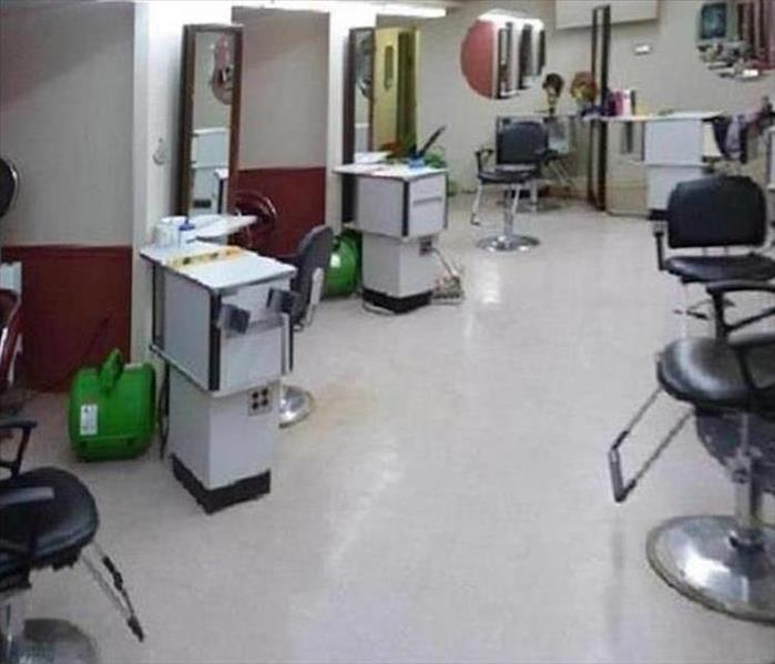 Beauty Salon and Dirty Flood Waters--Cape Coral After