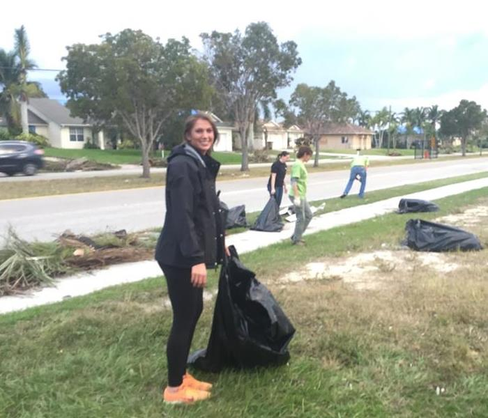 Cape Coral Tornado Community Clean-up